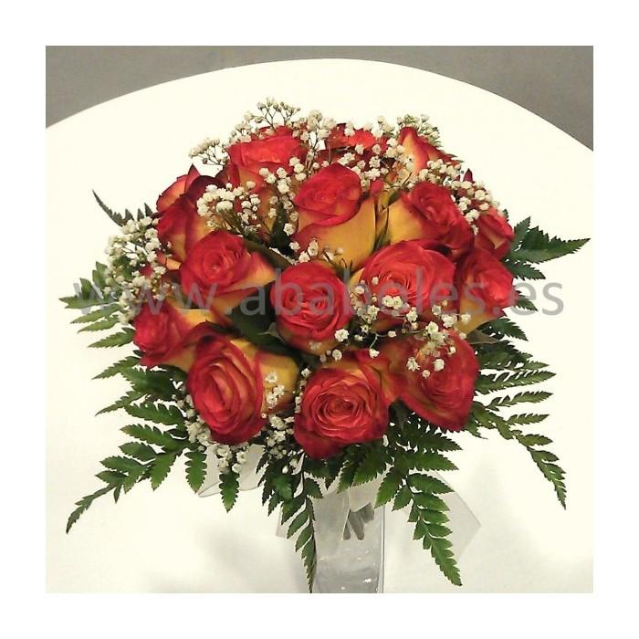Bouquet de Rosas bicolor