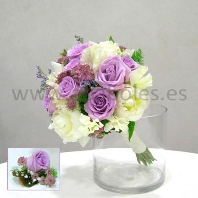 Bouquet de Rosas y Peonías