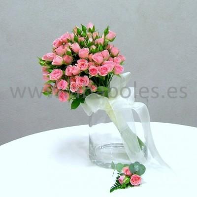 Bouquet de Rosa Ramificada