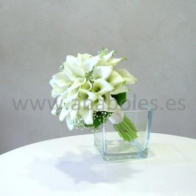 Bouquet de Calas blancas