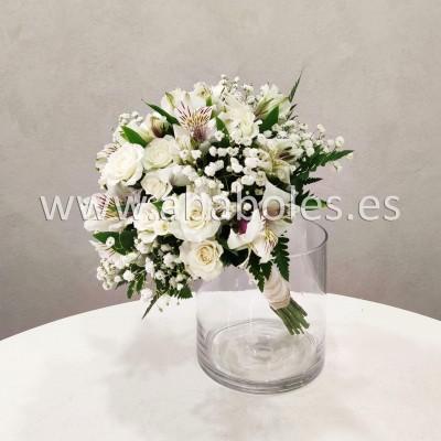 Bouquet de Rosa Ramificada y Alstroemeria