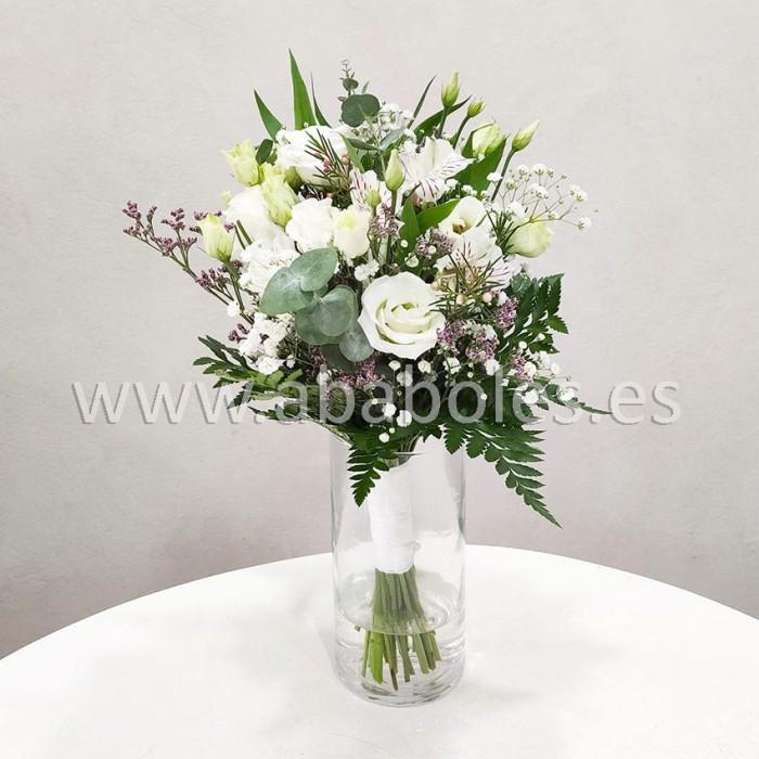 Bouquet de Alstroemeria y Lisianthus